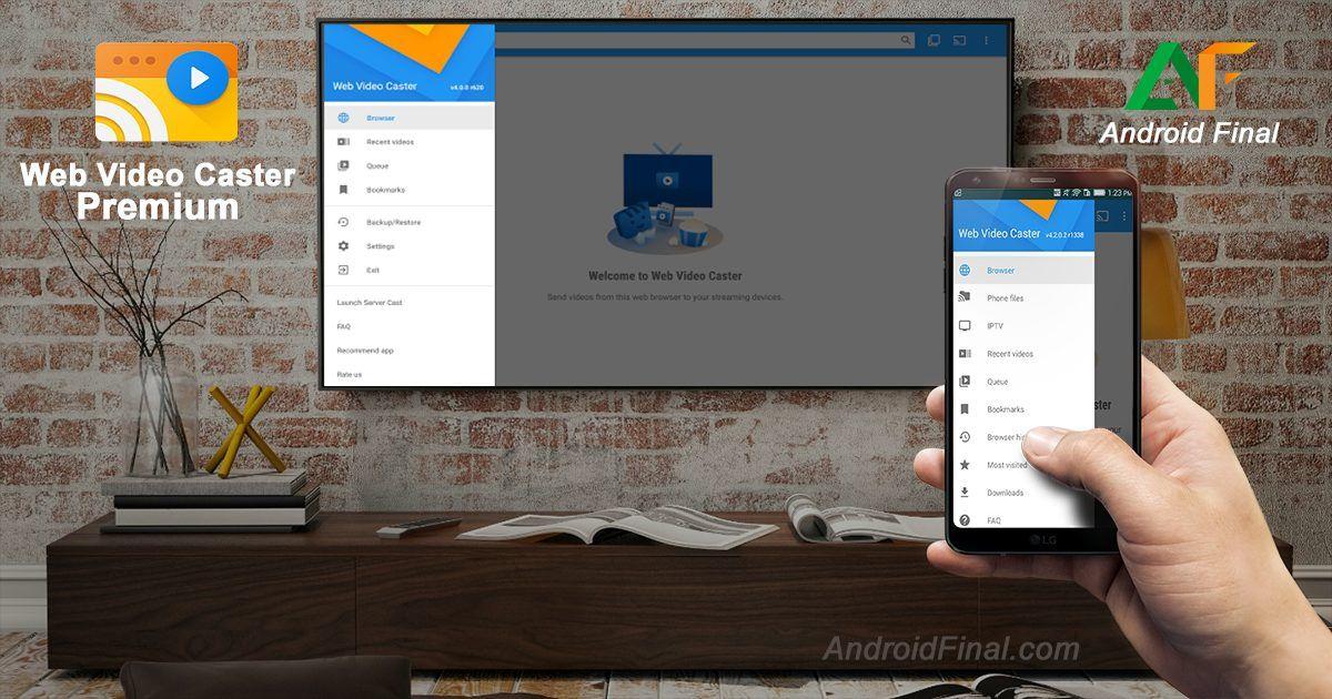 Web Video Caster Premium v4.5.4 build 1768 APK Vídeo de