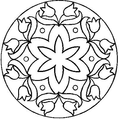 My Free Patterns Mandalas Para Colorir Desenhos De Mandalas