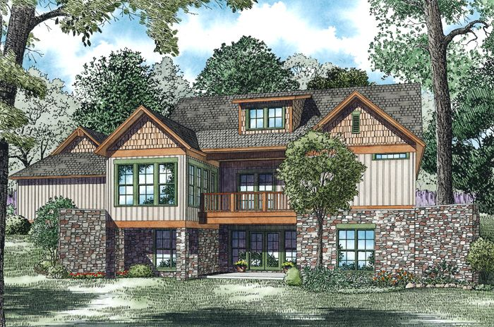 nelson design group | house plans|design services » calico bluff