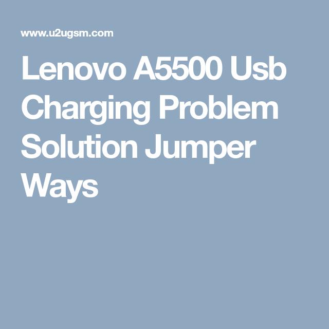 Lenovo A5500 Usb Charging Problem Solution Jumper Ways | Smart Phone