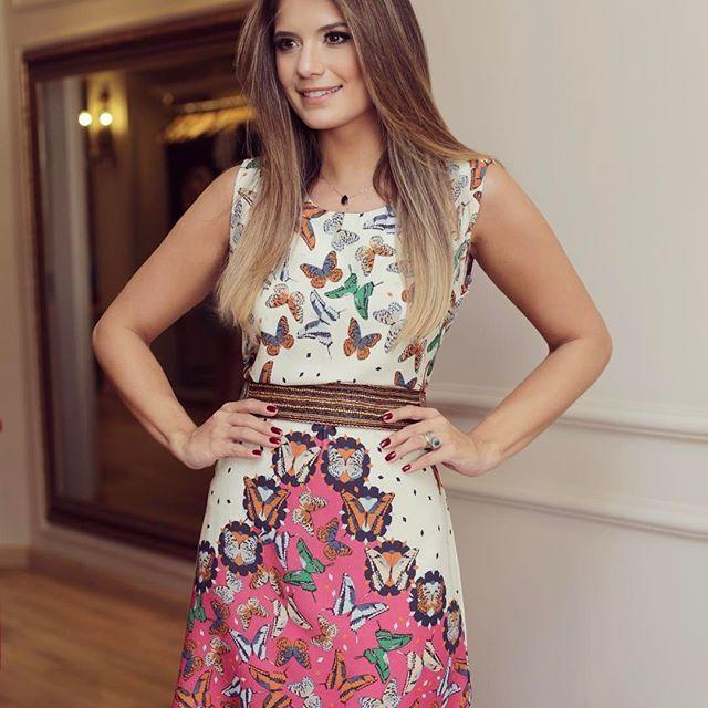 Vestido @m.aclothes 🦋🦋 Apaixonada por todas as estampas da marca!