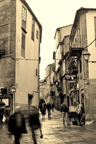 Porta Faxeira, Santiago de #Compostela #Galicia