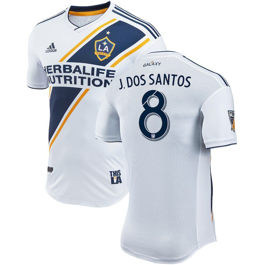LA+Galaxy+Jonathan+dos+Santos+ 8+adidas+White+2018-2019+home+Player+Jersey   powerlifting  youtube  youtuber  fit  fitspo  fitness  women  gymshark   gym ... acae89bb8