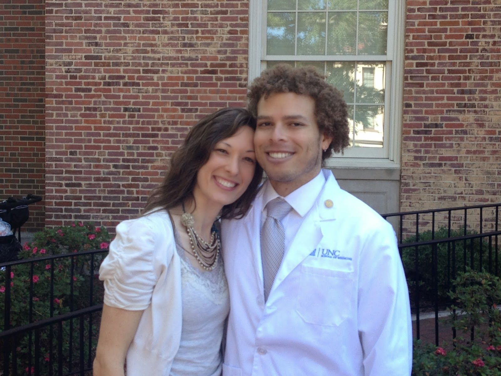 Dating a female med student white coat