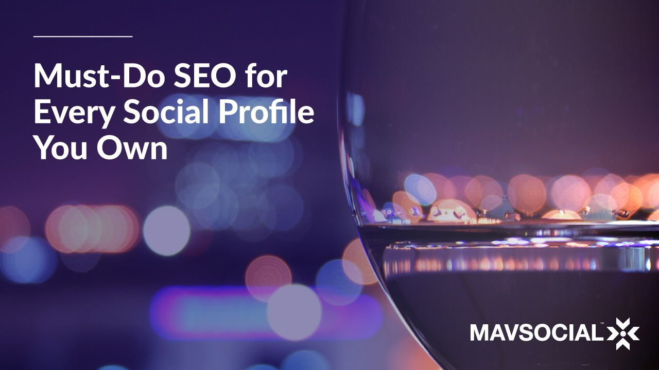 How to Search Engine Optimize Every Social Media Profile You Own • SEO isn't just for your website or your blog. Search engine optimization for social media is paramount to getting found by your target audience. ►