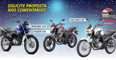 HILTON MOTOS: Linha 150. Yamaha Crosser 150, Fazer 150 e Factor ...