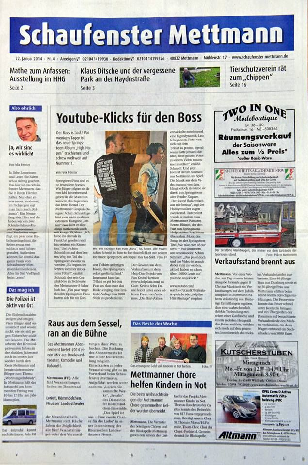 There was even a write up in the German press about the E