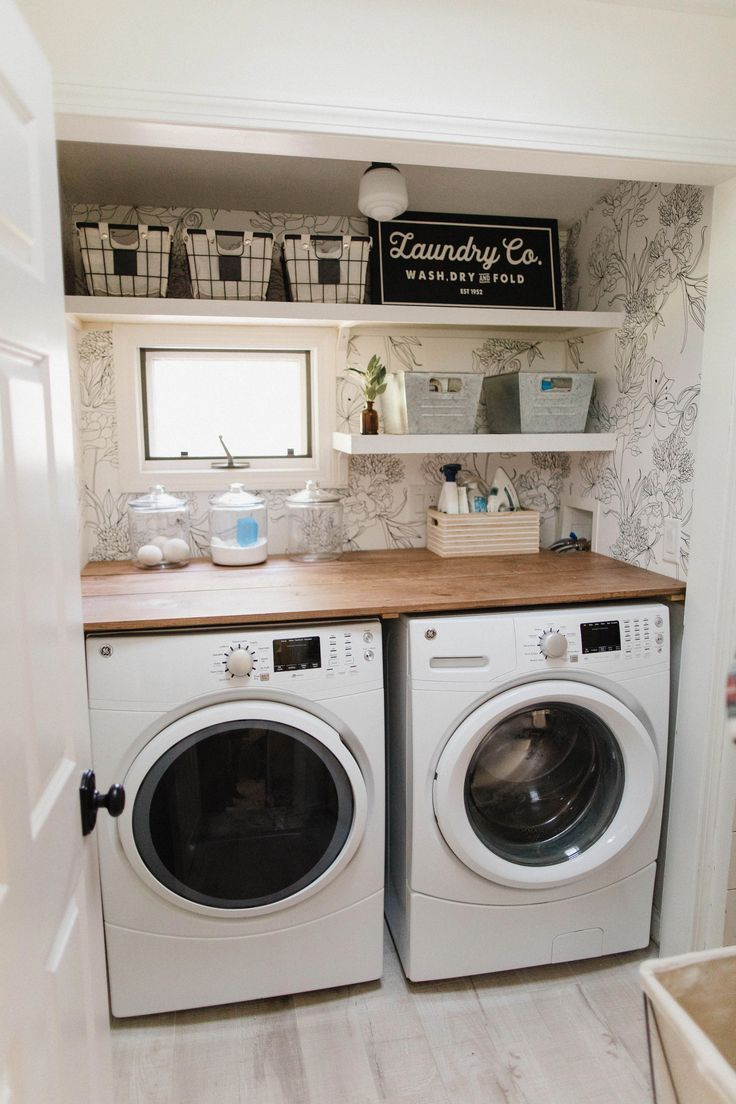 Laundry Room Update - Lauren McBride