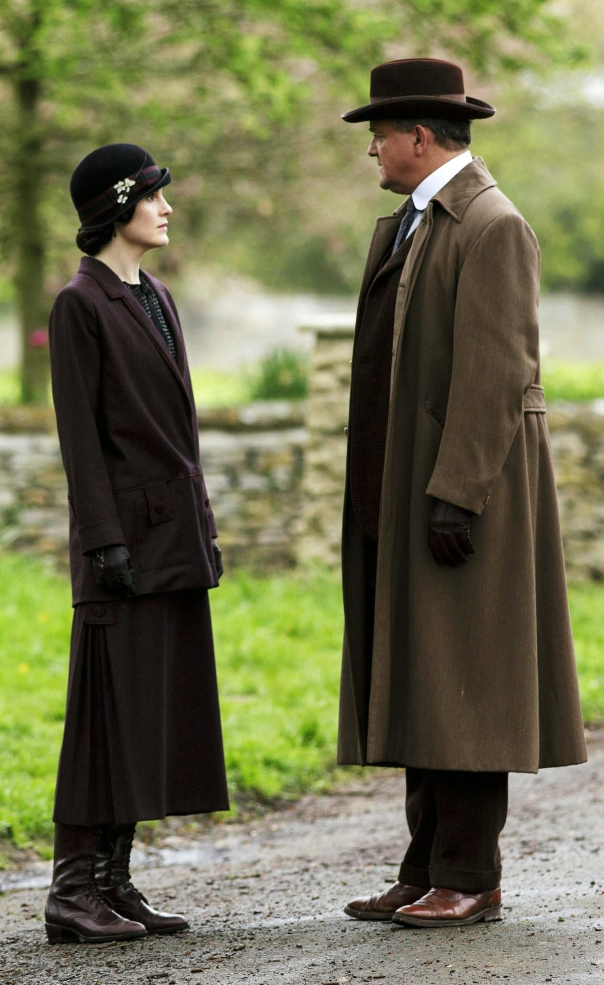 Lady Mary and father Robert