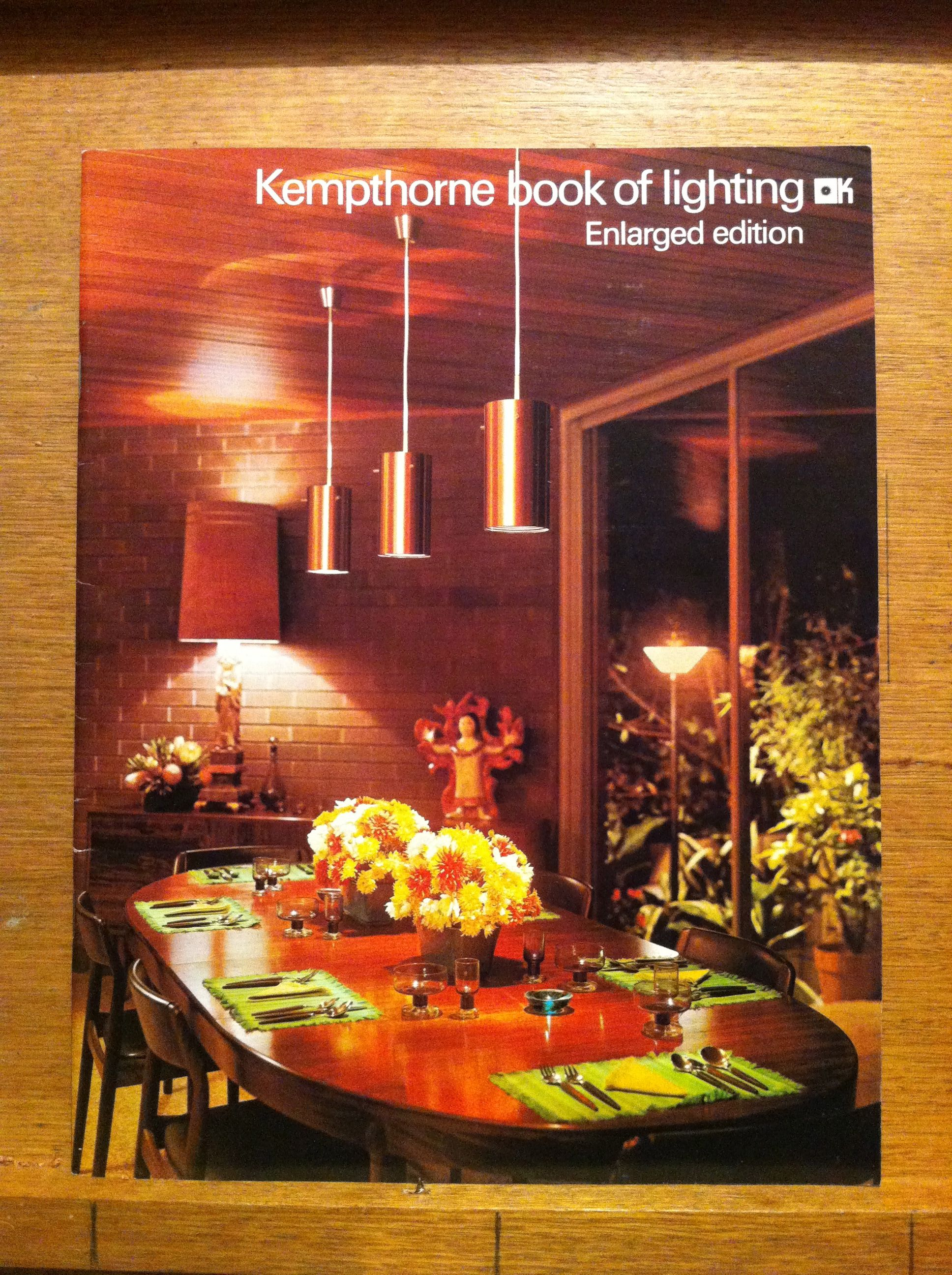 1970 Kempthorne Catalogue P1 Front Cover Australian