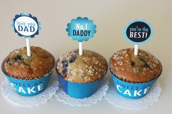 free fathers day party printable decorations toppers and more