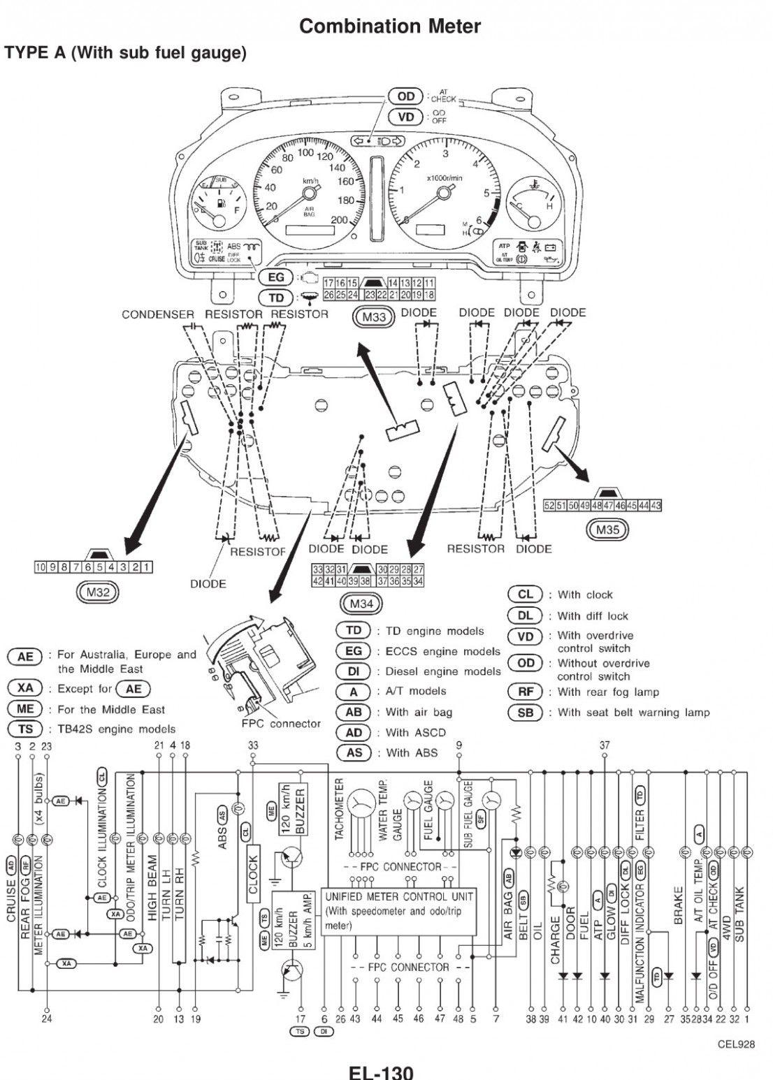 Montagem Do Motor Frontal Direito Westar EM-8994 se encaixa 96-01 Nissan Altima 2.4L-L4