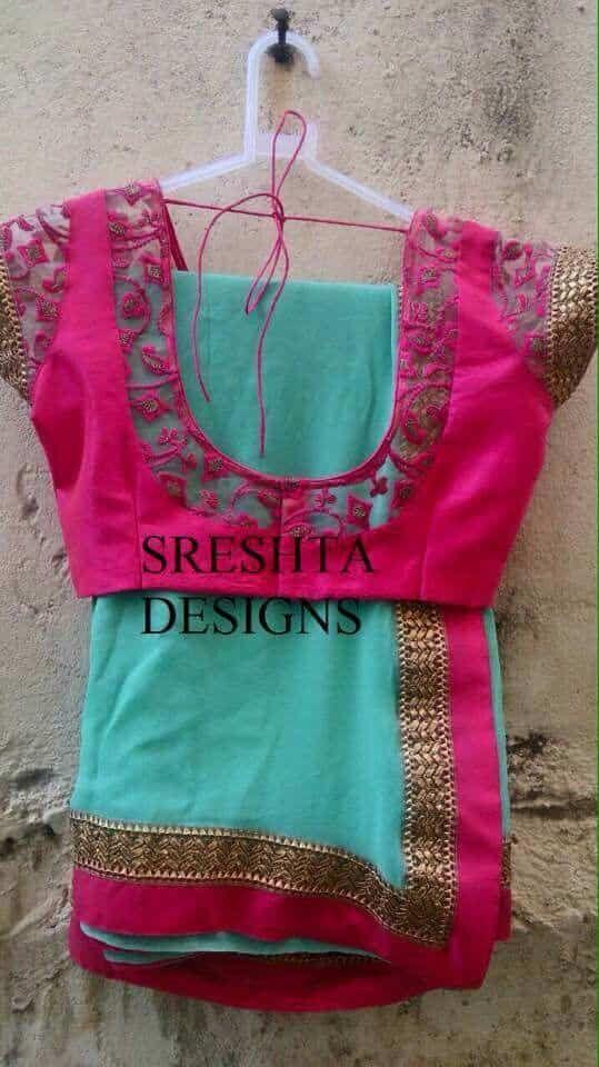 Designer Blouse Designs for Women - ArtsyCraftsyDad #blousedesigns