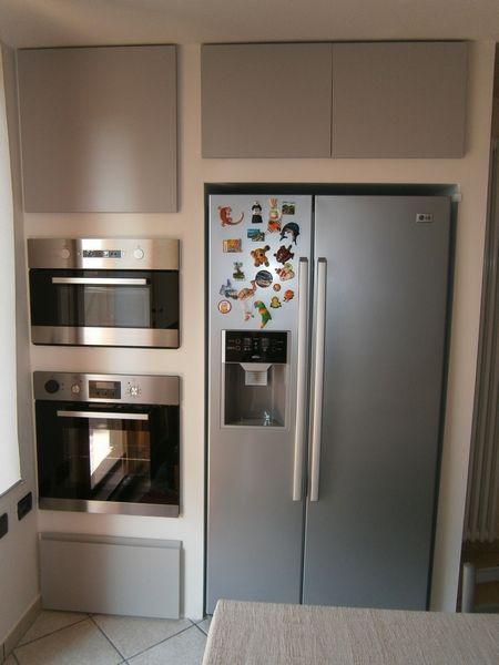 Frigo incassato cartongesso cerca con google - Cartongesso per cucine moderne ...