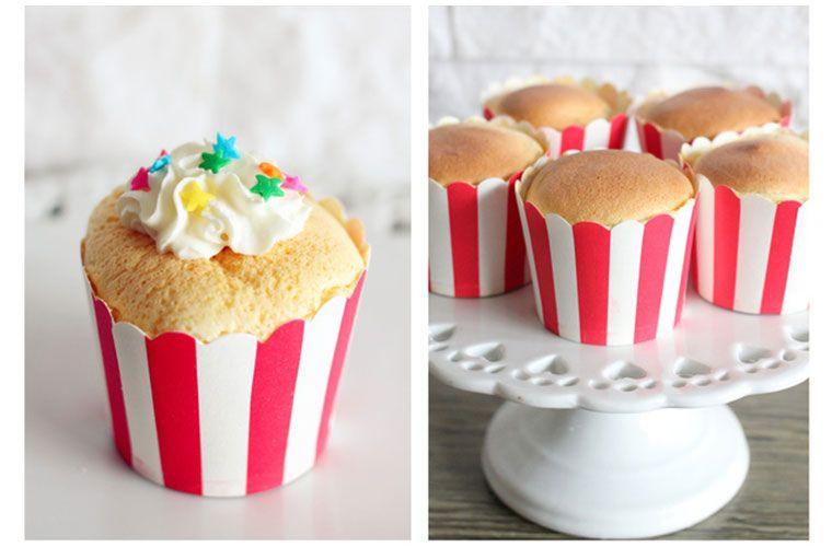 【讓人融化的下午茶!超萌食譜DIY】軟綿綿的杯子蛋糕~~!
