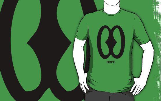 T-Shirt Adinkra Symbol: Hope by Keith Richardson