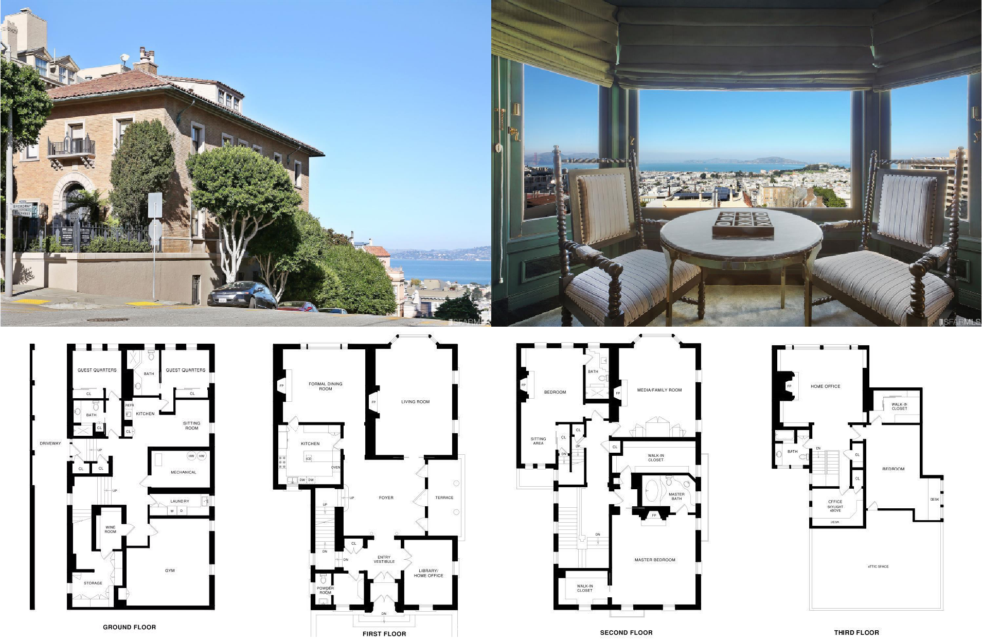 2100 Broadway Street San Francisco Ca 94115 San Francisco Real Estate City House Real Estate