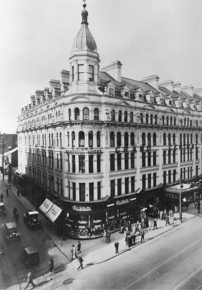 Grand Central Hotel In Belfast From European Cities 1900 Page 3 Skysercity