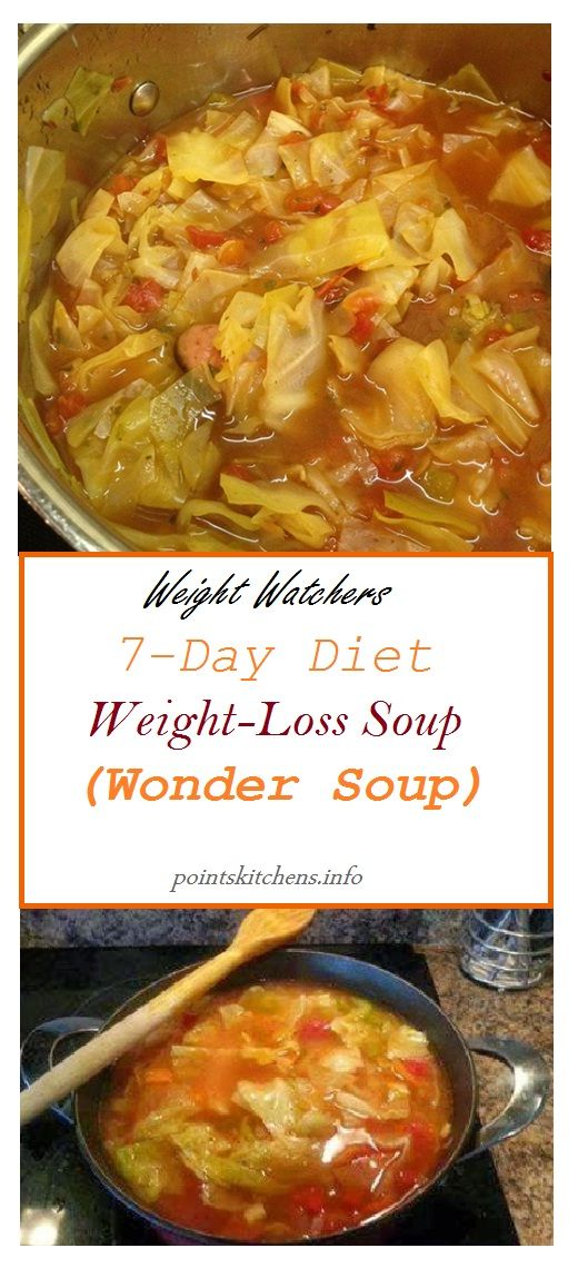 7Day Diet Weight Loss Soup Wonder Soup  7Day Wonder Soup    food