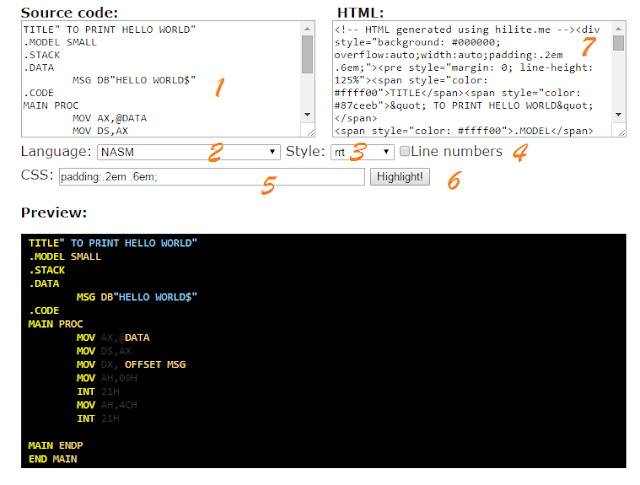 Cool Website to Stylize Programming Codes & Syntax