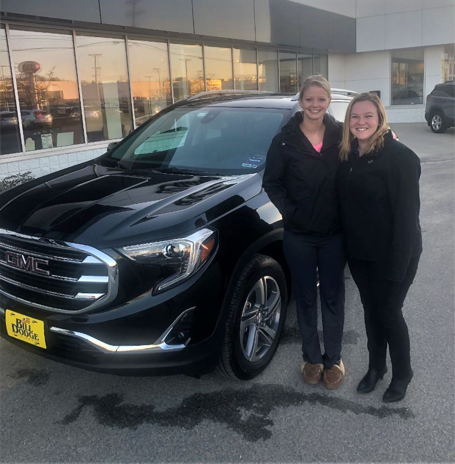 Congratulations To Korissa On Her Beautiful New 2018 Gmc Terrain Cari Chris And The Rest Of The Team Here At Bill Dodge Gmc B With Images Gmc Terrain Gmc Buick