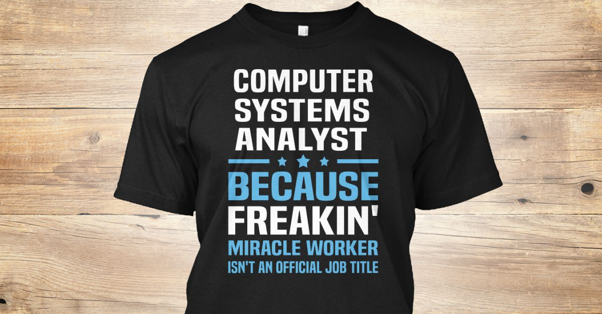 Computer Systems Analyst