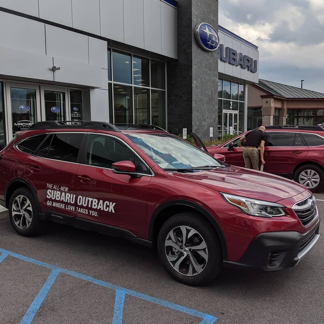 We Got A Sneak Peak At The New 2020 Outback Today Hitting Our Lot Next Month Link To Our Inventory In The Bio 2020 Subaru Ca Subaru Cars For Sale Bmw Car