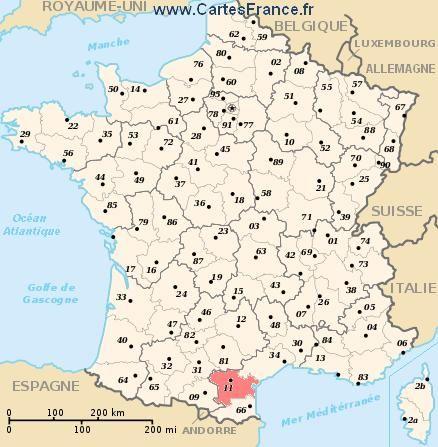 Map Department Aude In 2020 Frankreich Karte Frankreich Urlaub