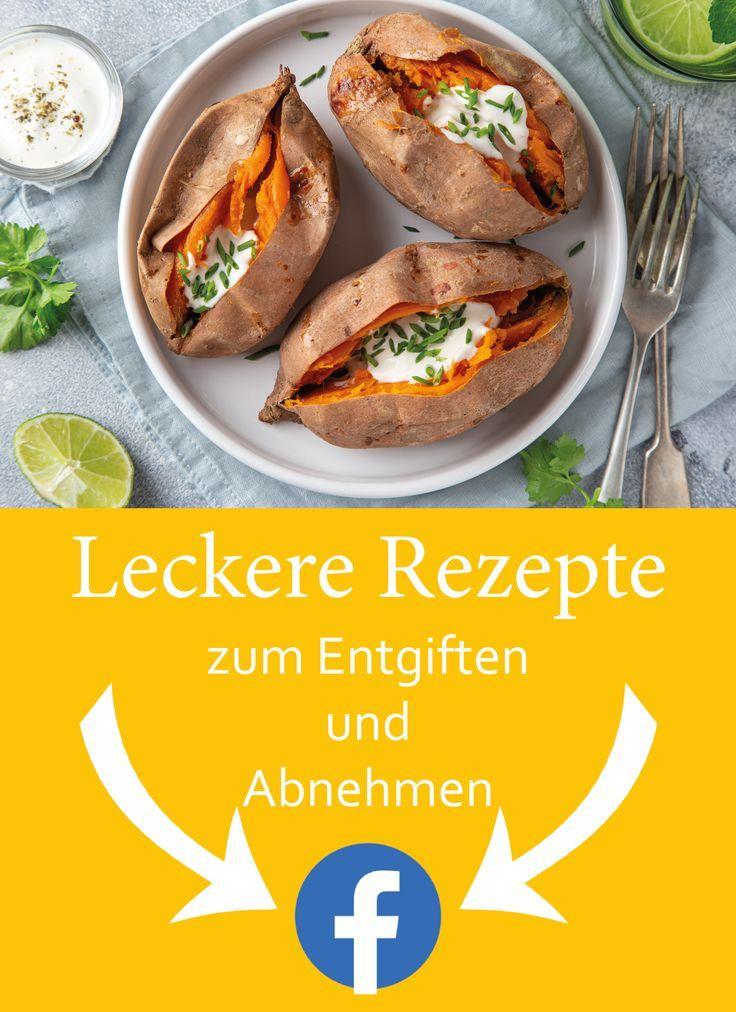 Leckere Rezepte zum Entgiften und Abnehmen findet ihr in meiner Facebook-Gruppe.  Tasty recipes for...