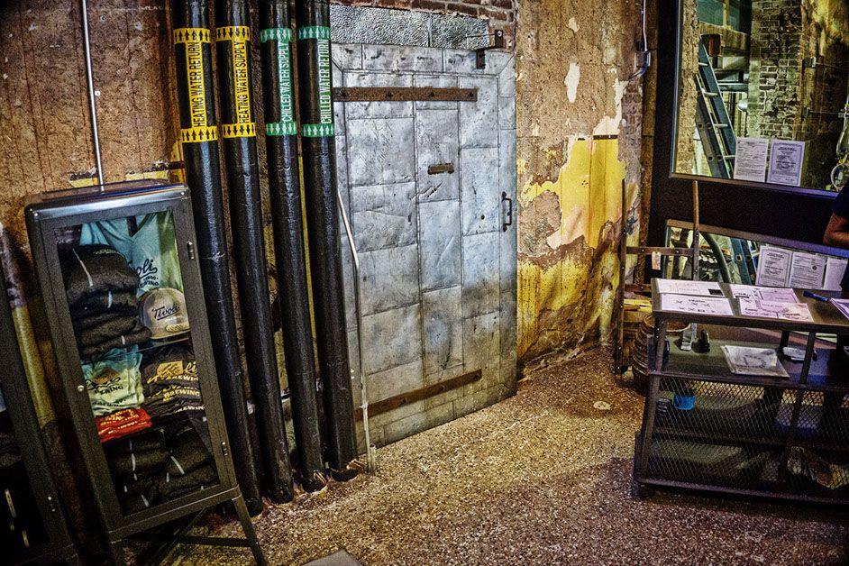 Front Range Timber Reclaimed Antique Tin Fire Door at ...