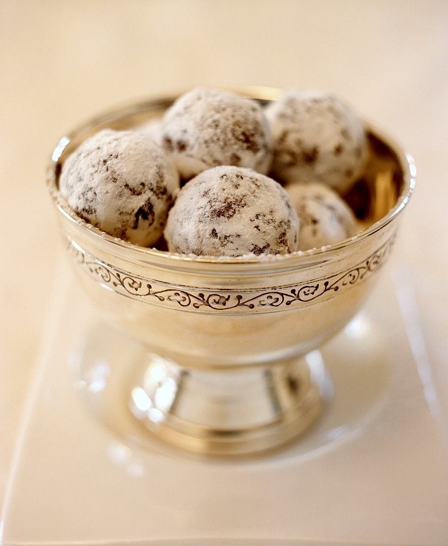 Schokoladen-Marzipan-Pralinen #pralinecake