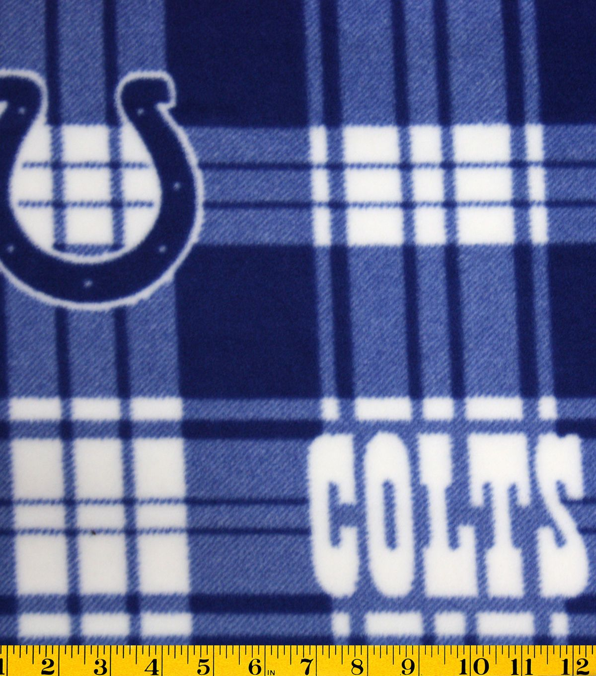 Indianapolis Colts Fleece Fabric 58