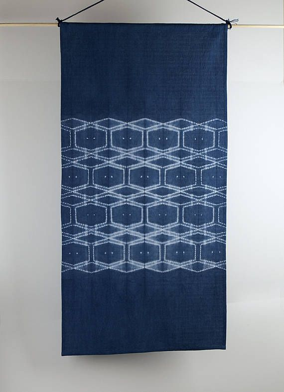 This Wall Hanging / Fabric Tapestry Would Be A Beautiful Addition To Your  Home, Or A Perfect Gift For Someone Special. Katano Shibori, A Traditional  ...