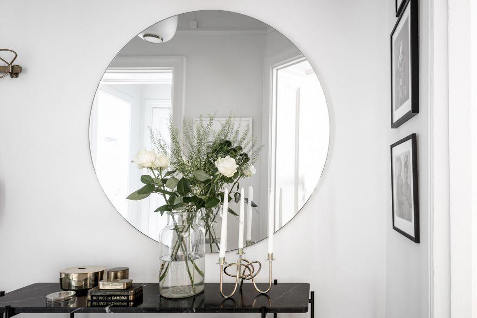 Stor rund spegel 34 kvadrat Metro Mode