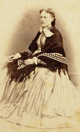 Details about ANTIQUE CW ERA CDV PHOTO OF SOUTHERN BELLE IN LOVELY HOOP DRESS LOUISVILLE KY #dressesfromthesouthernbelleera ANTIQUE-CIVIL-WAR-ERA-CDV-PHOTO-LOVELY-YOUNG-WOMAN-IN-LOVELY-HOOP-DRESS-SHAWL #dressesfromthesouthernbelleera
