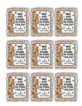 Holiday Gift Tags for Student Gifts | Brag Tags | Pinterest ...