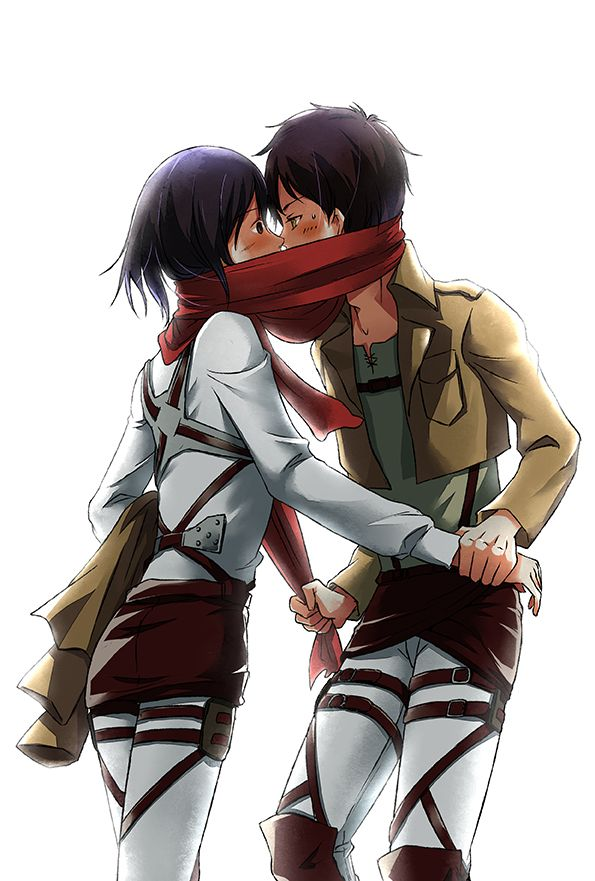 Attack On Titans How To Use Scarf Correctly Attack On Titan Anime Mikasa X Eren Anime