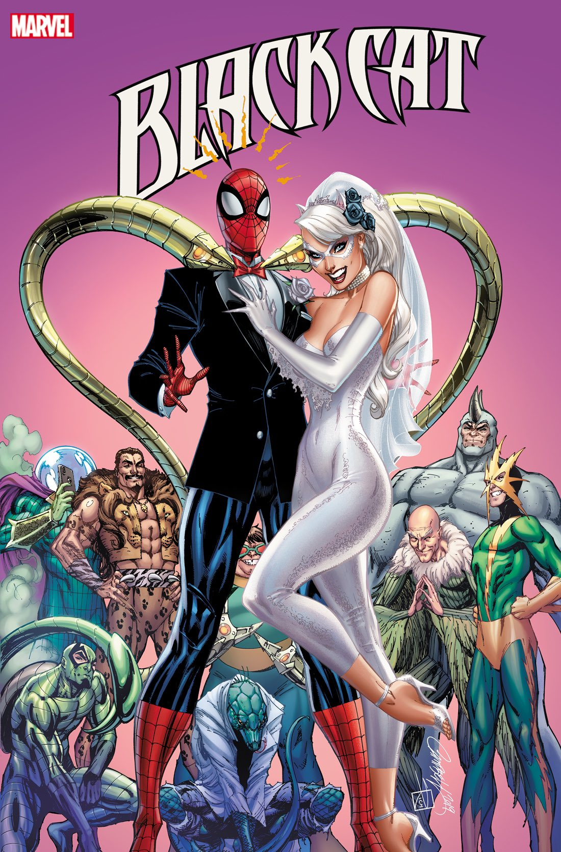 Exchange Your Vows Black Cat Annual (2019) 1 cover