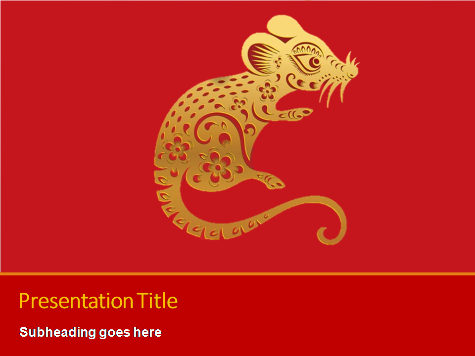 How to make an appealing Chinese New Year 2020 Powerpoint