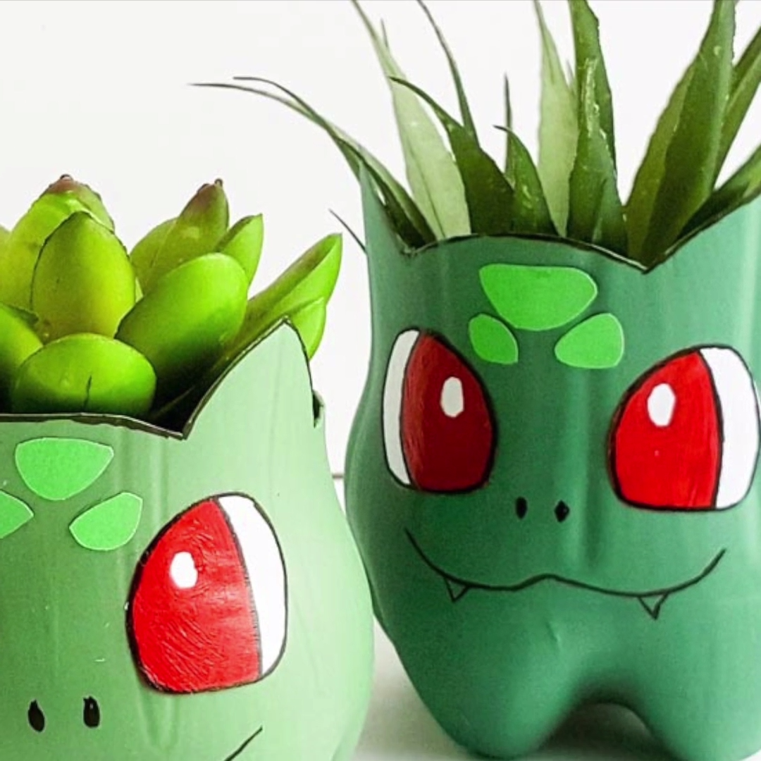 Bulbasaur Planter for Pokemon Fans