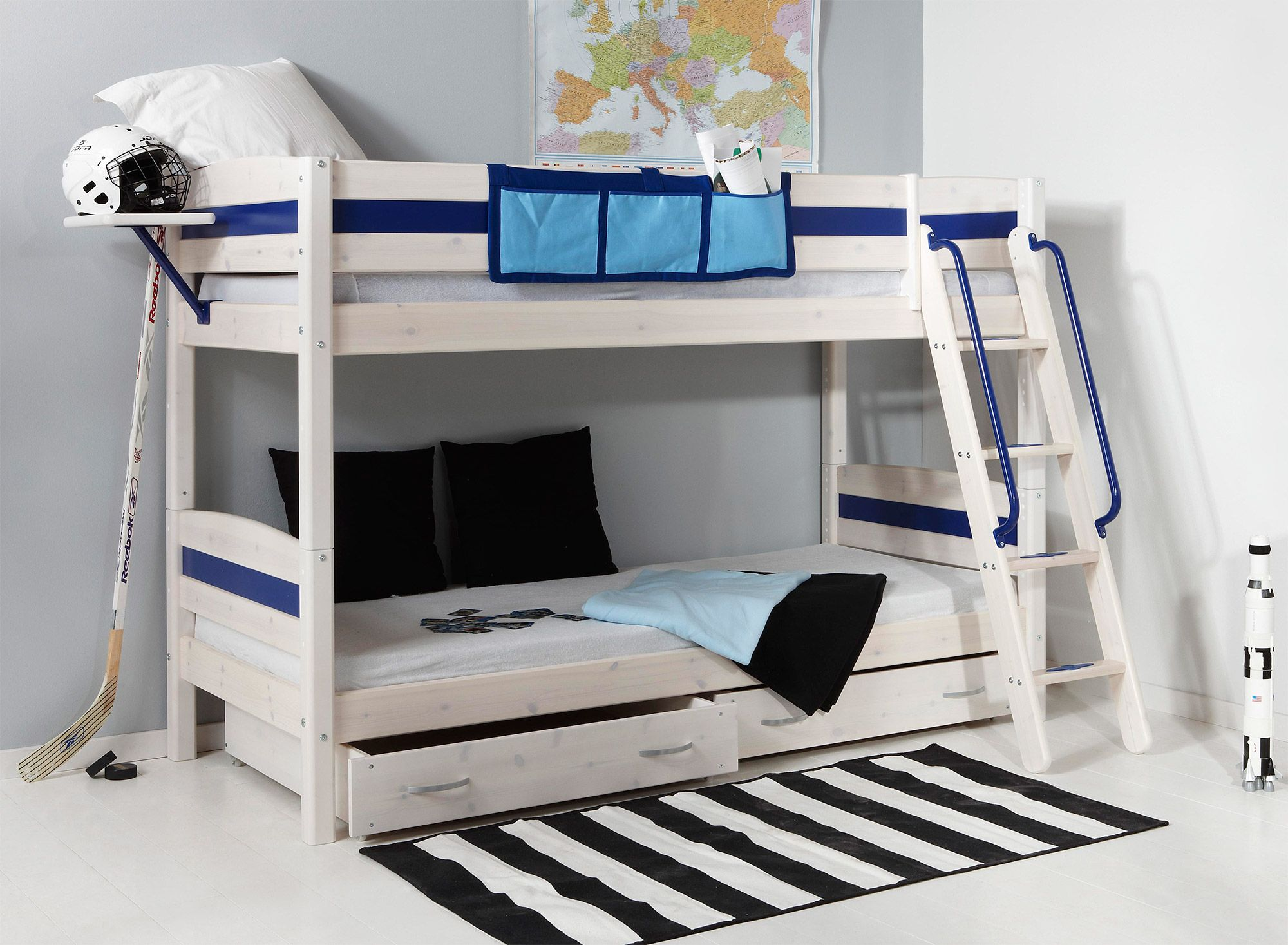 Thuka Hit 6 Bunk bed with Underbed Drawers Pine bunk