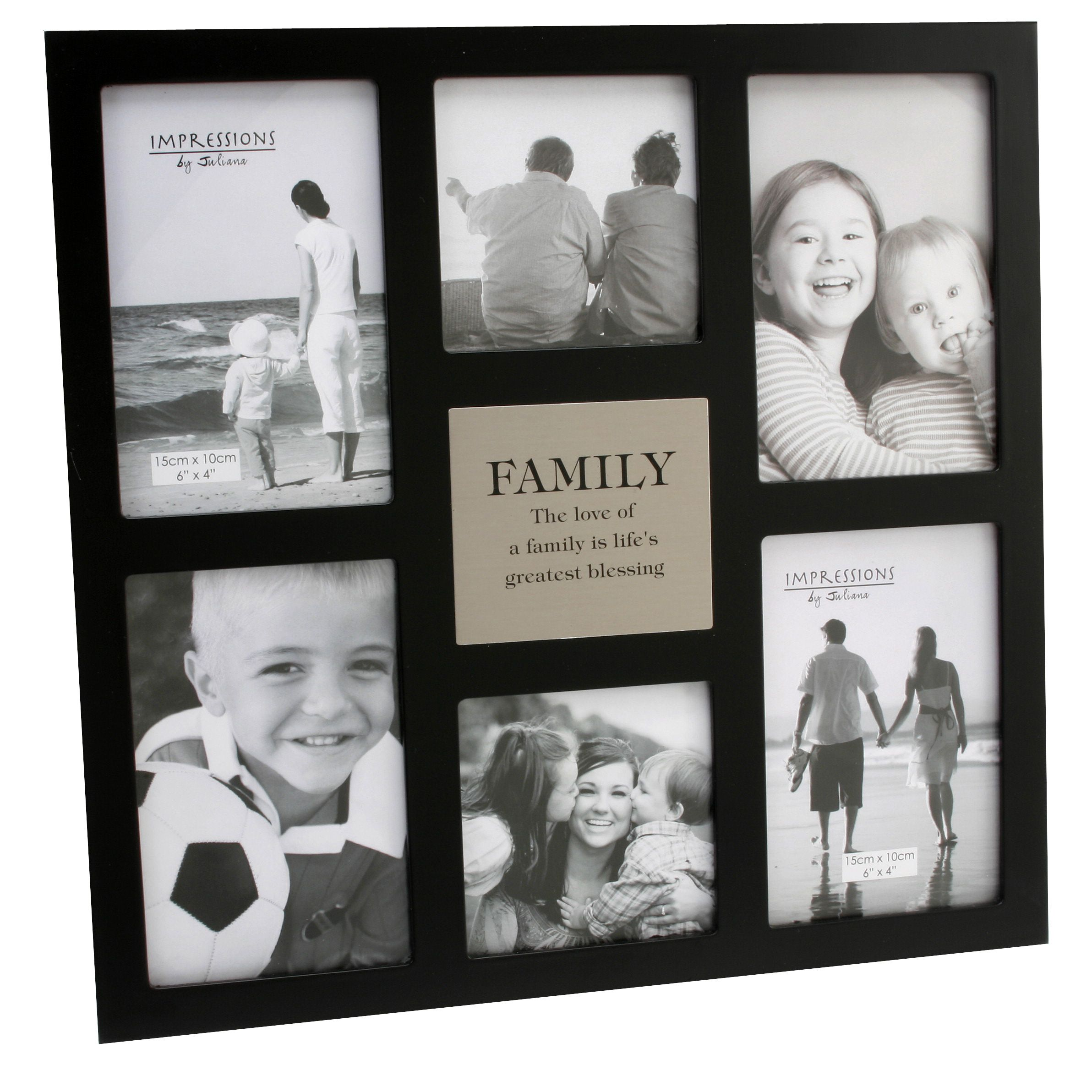 This 6 Aperture Family Multi Frame Makes A Wonderful Gift