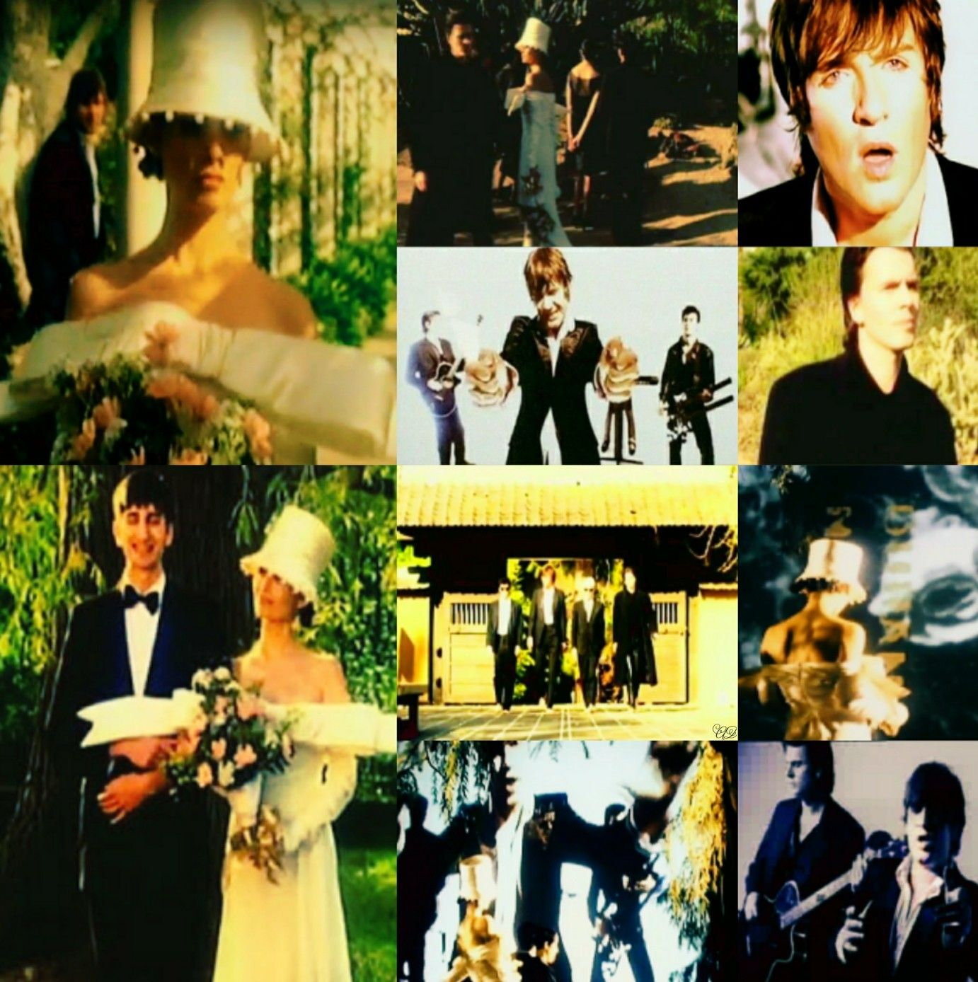 Duran Duran Ordinary World video collage