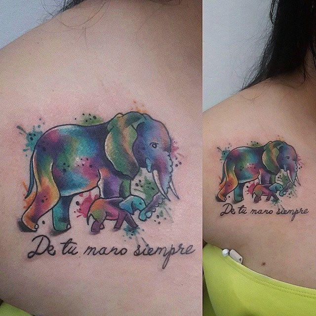 Tattoo para el recuerdo, siempre de tu mano #tatuaje #tattoolife ...