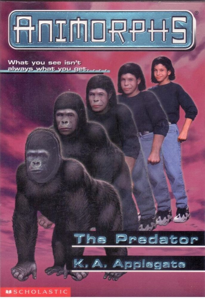 Animorphs 5 The Predator By Ka Applegate Paperback Shand