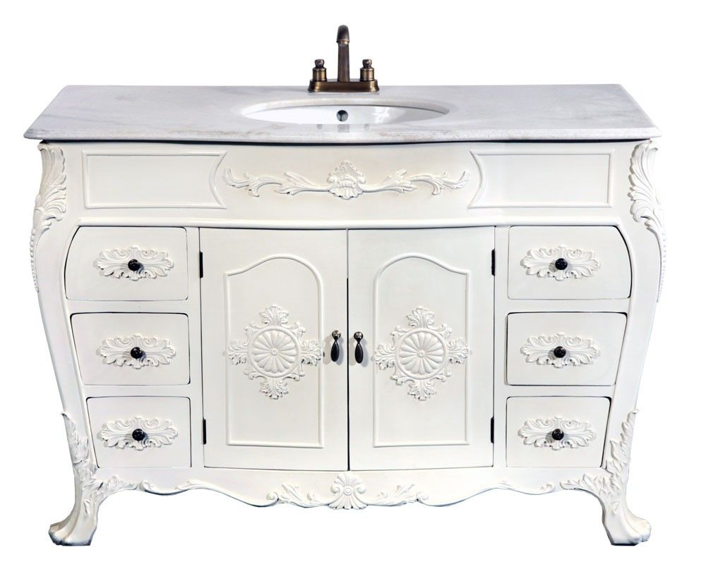 Antique White Sink A beautiful french ornate sink unit ...