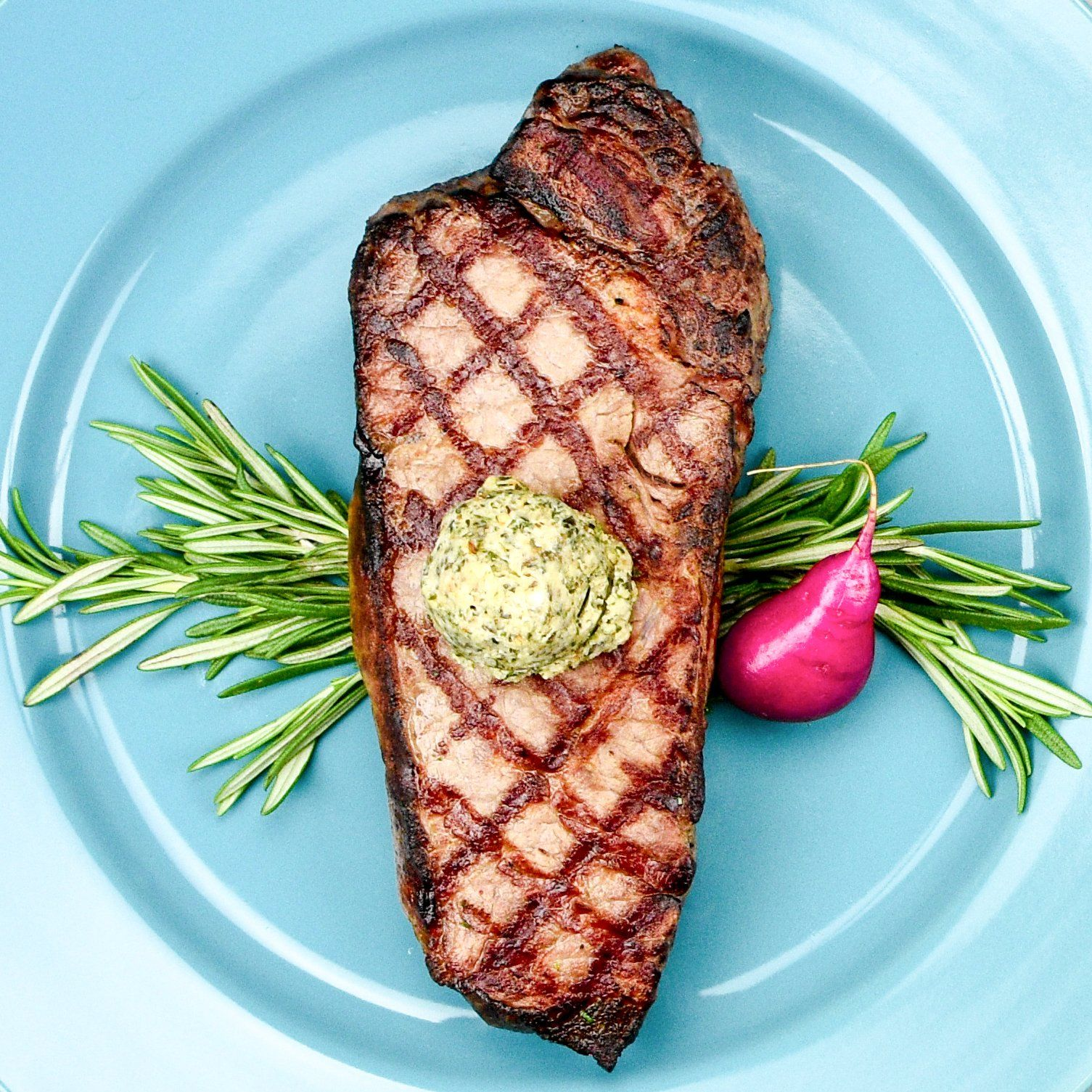 The Patio Daddy-O USDA Prime New York Strip Steak Box ~ Sweet Awakening