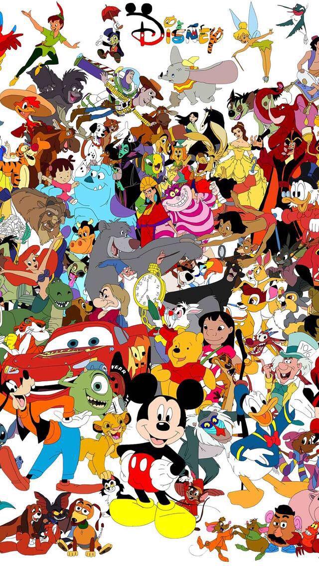 Je Vous Offre Des Fonds D Ecran Alors Abonnez Vous En Echange Svp Disney Collage Disney Characters Wallpaper Disney Art