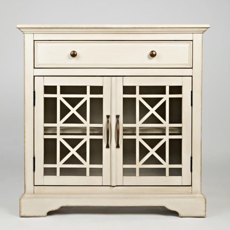Craftsman Antique Cream Accent Chest | Accent Chests | Discount Direct  Furniture And Mattress Gallery