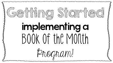 Implementing a Book of the Month Program {Why, Getting